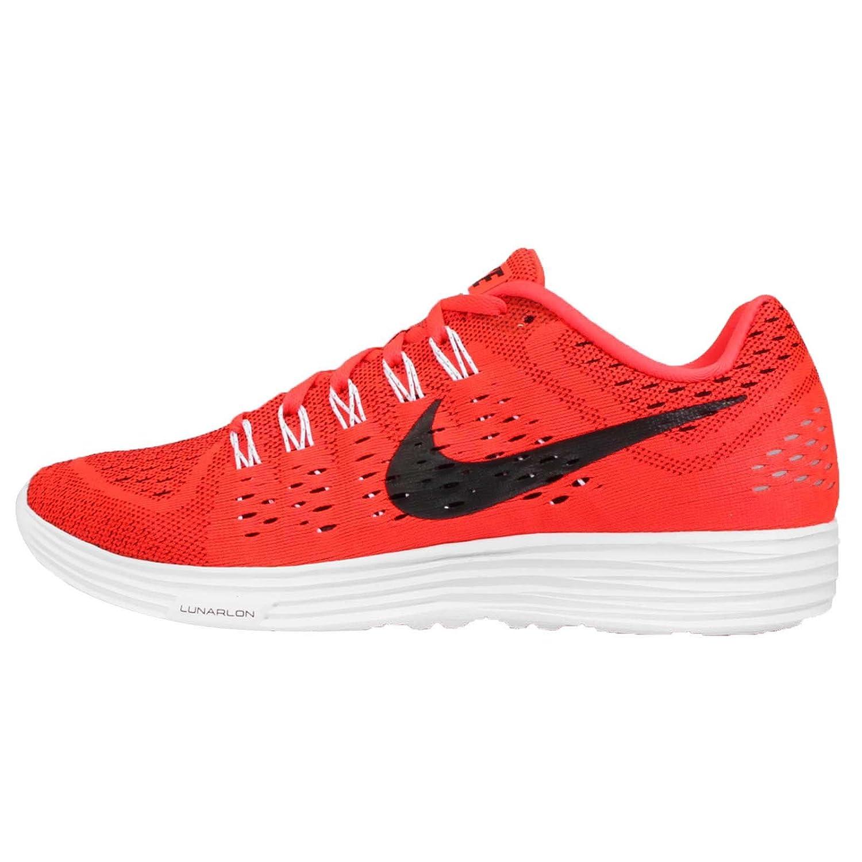 big sale b2db7 ca1ba Amazon.com   Nike Men s Lunartempo, Bright Crimson Black-White (9.5)   Road  Running