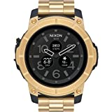 [ニクソン]NIXON ミッションSS MISSION SS スマートウォッチ 腕時計 メンズ/レディース ゴールド NA1216501-00 [正規輸入品]