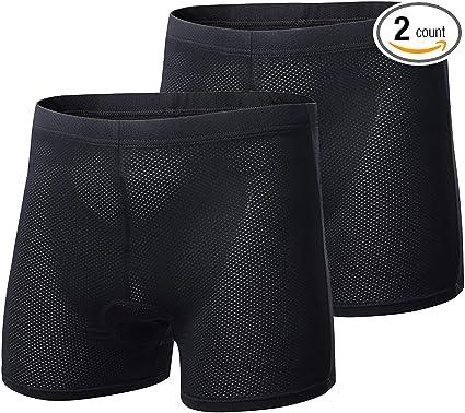 Gel Men/'s 3D Padded Cycling Underwear Bicycle Underpants Lightweight Bike Shorts
