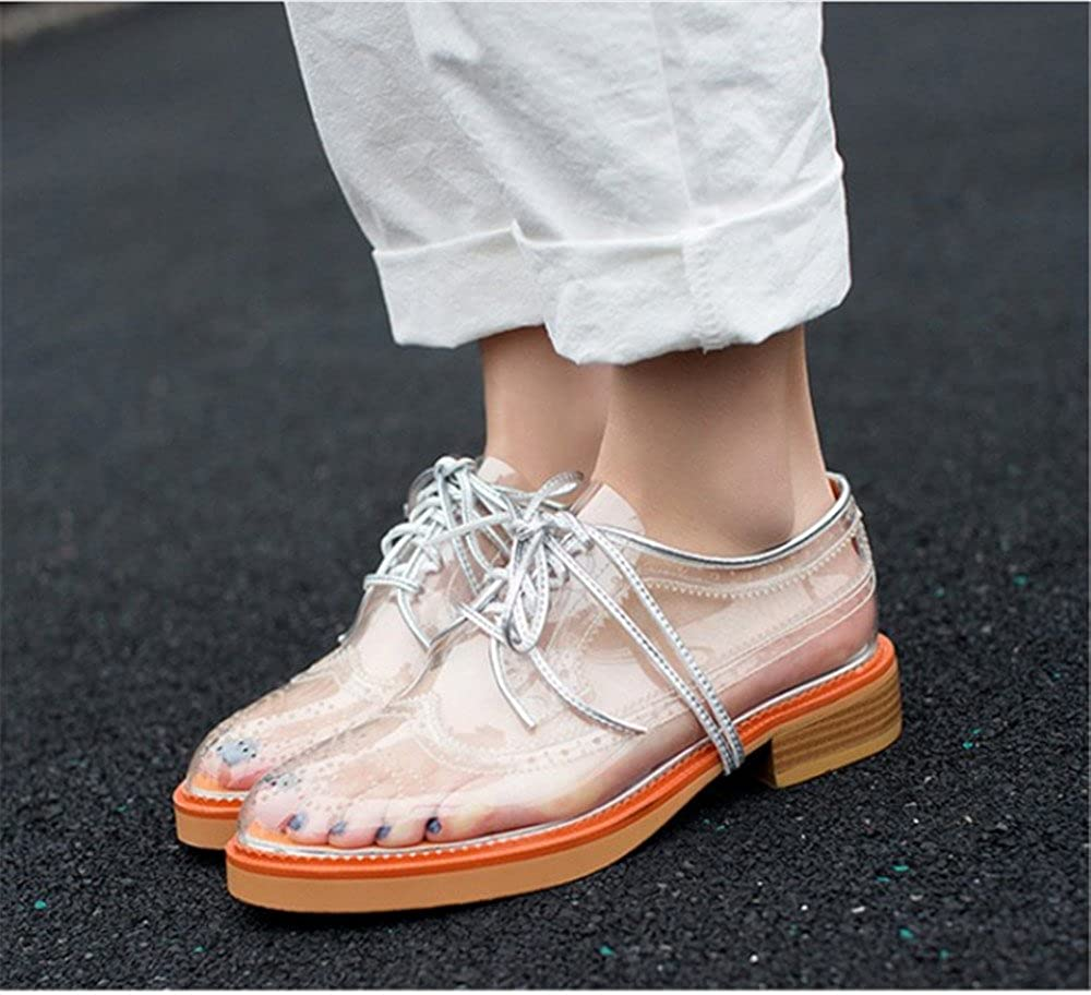 Womens Sandals - Ladies Summer High-Heeled Sandals Transparent Shoes B(M) 35/4.5 B(M) Shoes US Women|White B07F65BY31 a5576e