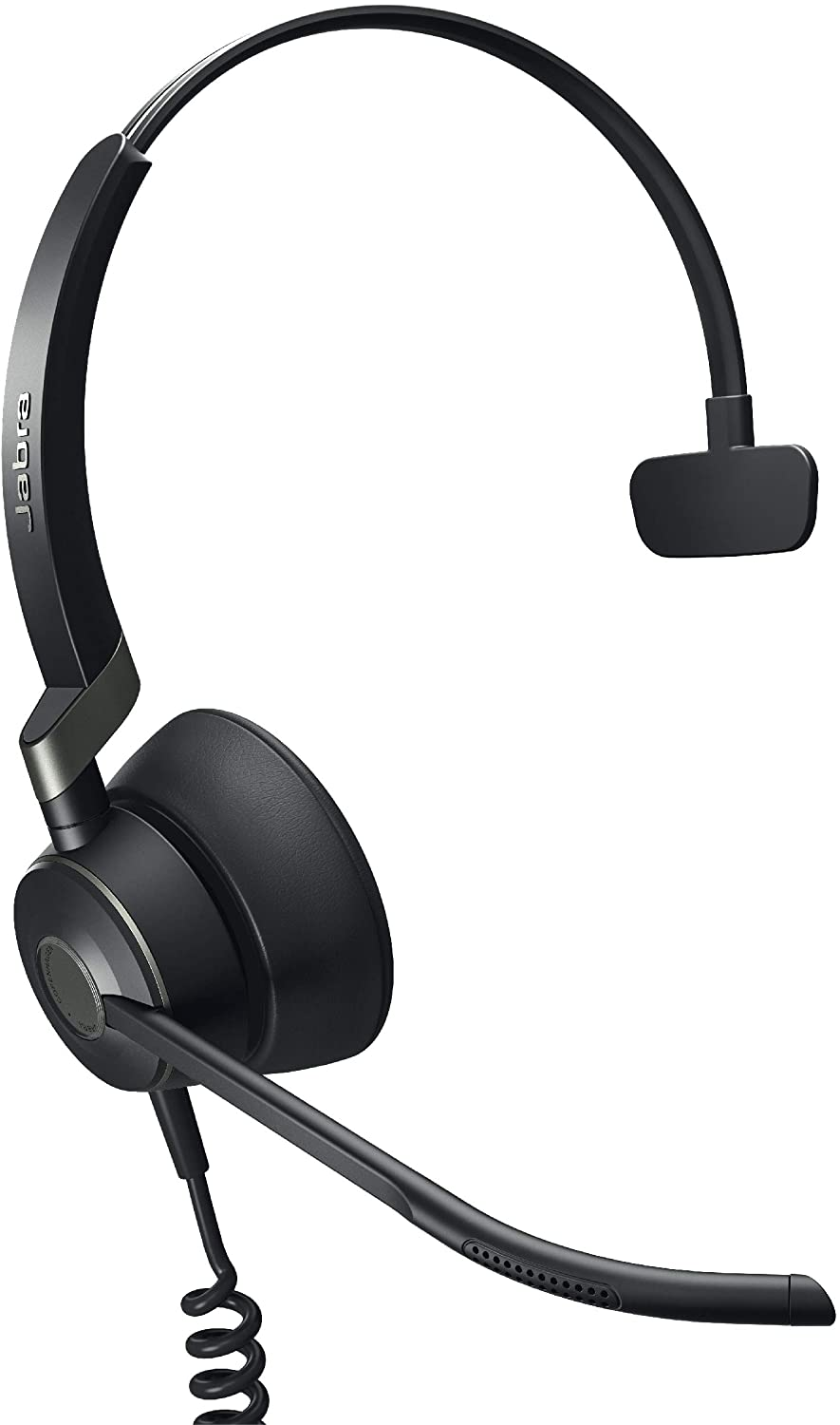 Jabra Engage 50 Wired Headset, Mono – Telephone Headset with 3-Microphone System, Blocks Out Background Noise for Increased Agent Focus, Call Center Headset Features Enhanced Hearing Protection