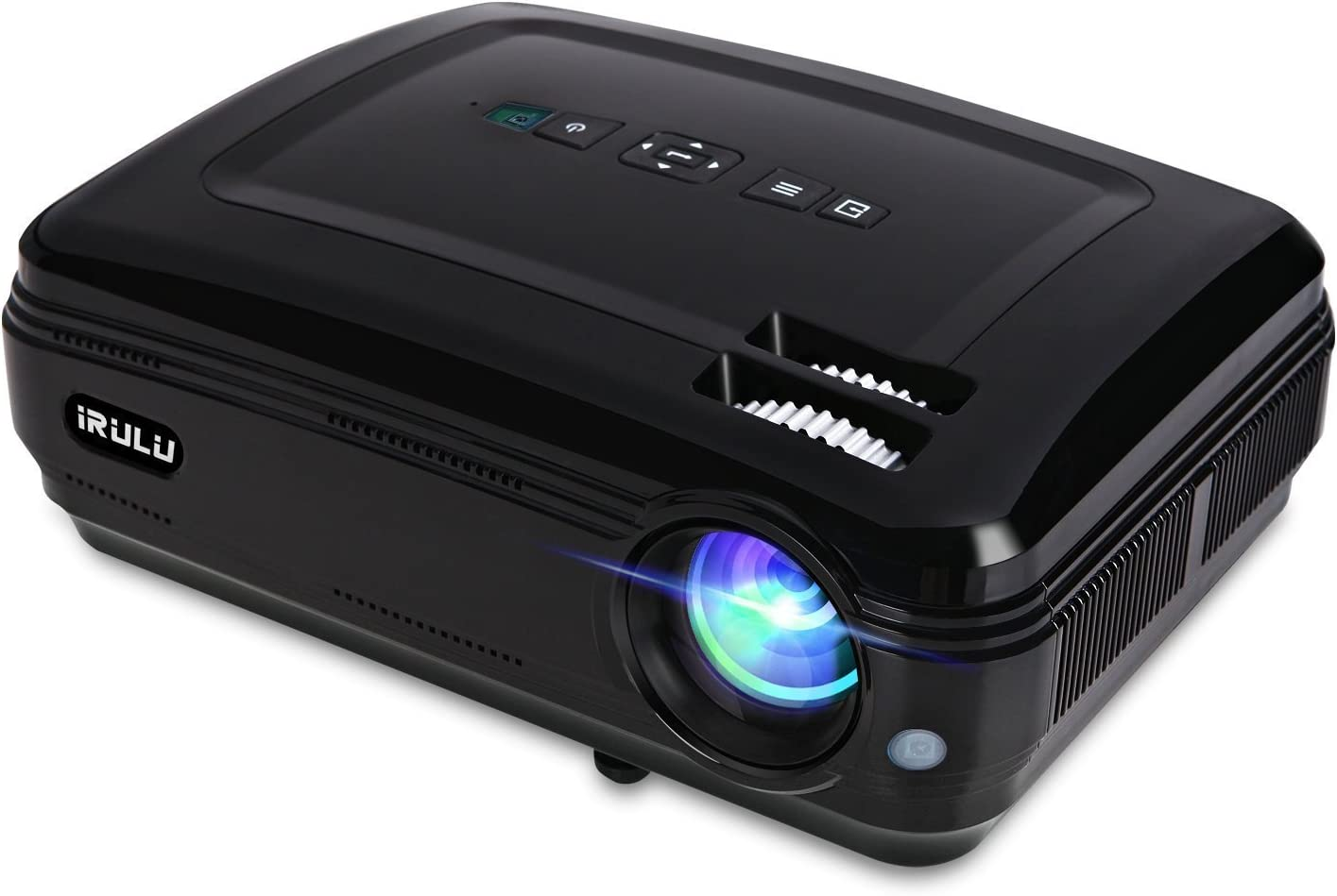 Proyector iRulu - P6 Video Projector LED 1280 x 768 HD Apoyo 1080P ...