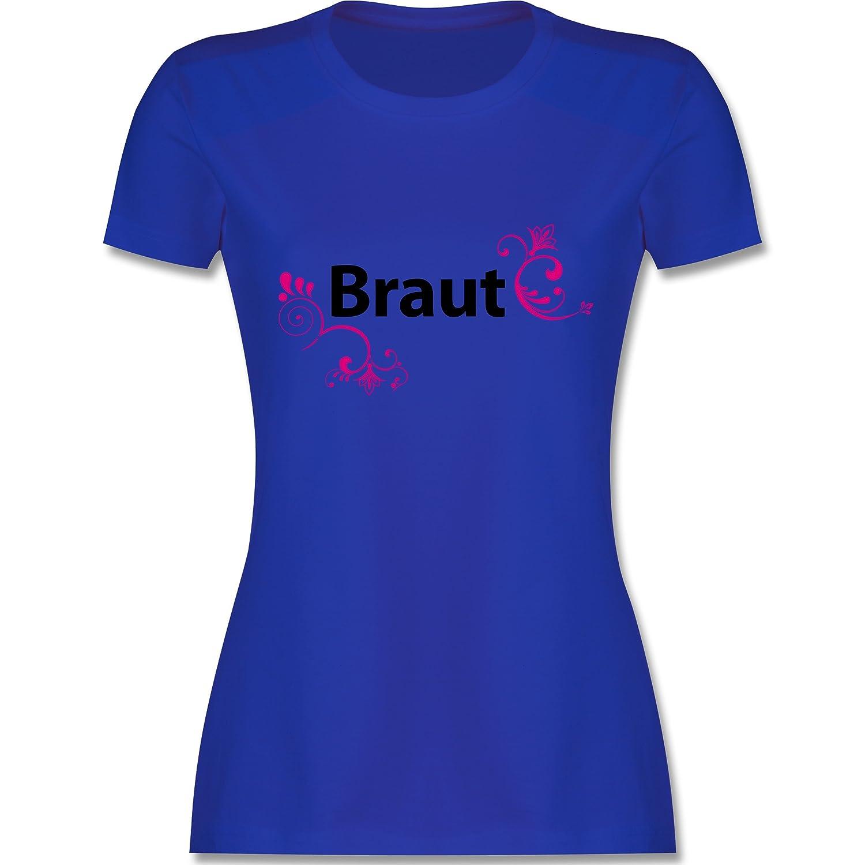 JGA Junggesellinnenabschied - Braut - Damen T-Shirt Rundhals: Shirtracer:  Amazon.de: Bekleidung