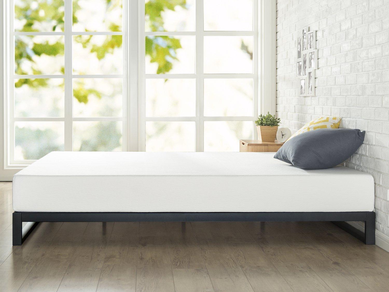 Amazoncom Ptj Low Platform Bed Frame 7 Inch Heavy Duty Steel