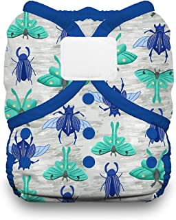 product image for Thirsties Duo Wrap Cloth Diaper Cover, Hook and Loop Closure, Arthropoda Size Two (18-40 lbs)