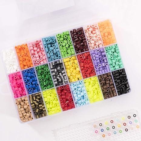 Bügelperlen Steckperlen Starterset 20 Farben 11000 Stück Neuware Bastelset