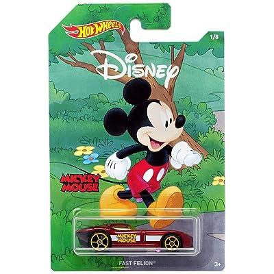 Hot Wheels Disney Fast FeLion (Mickey Mouse): Toys & Games