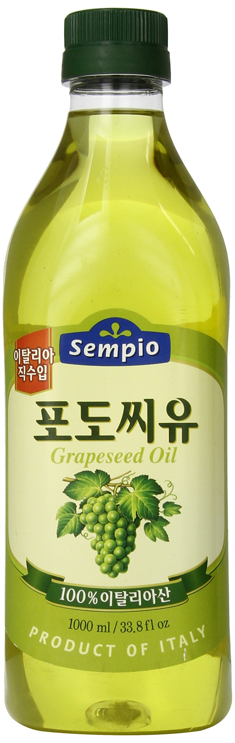 Sempio Grapeseed Oil, 33.81 Ounce by Sempio