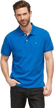 TOM TAILOR Herren Basic Polo Kragen Polohemd