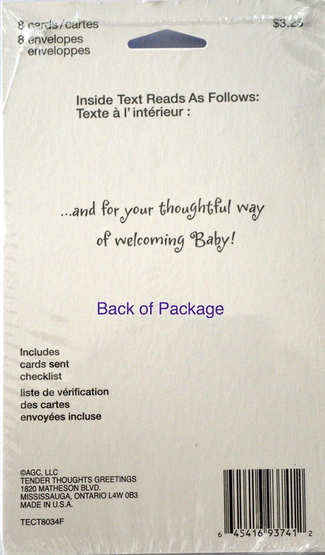Amazon 40 noahs ark thank you cards baby kristyandbryce Choice Image