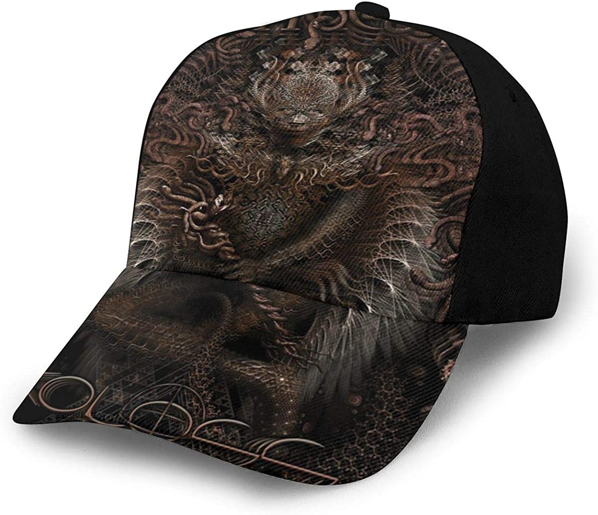 Frieda J O Meshuggah Koloss Cap Outdoor Unisex Hat Adjustable Athletic Hat Trucker Hat