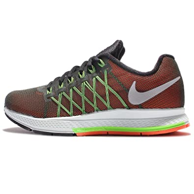 NIKE Womens Wmns Air Zoom Pegasus 32 Flash Sequoia/Reflect Silver-Voltage Green 8 US