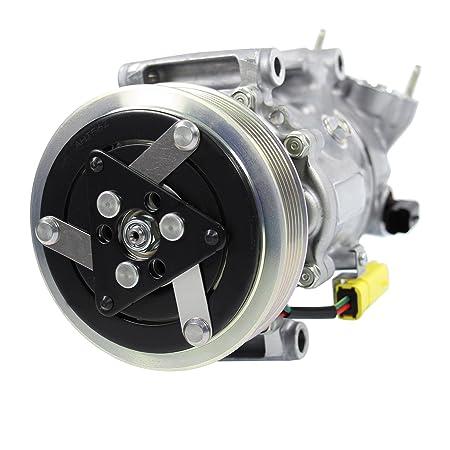 1 x climática Compresor Compresor Aire Acondicionado sanden sd6 C12,: Amazon.es: Coche y moto
