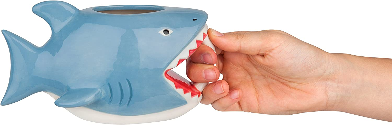 BigMouth Inc The Bite Me Shark Mug