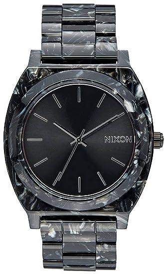 Nixon Reloj Digital para Adultos Unisex de Cuarzo con Correa en Acero Inoxidable A327-2185-00: Nixon: Amazon.es: Relojes