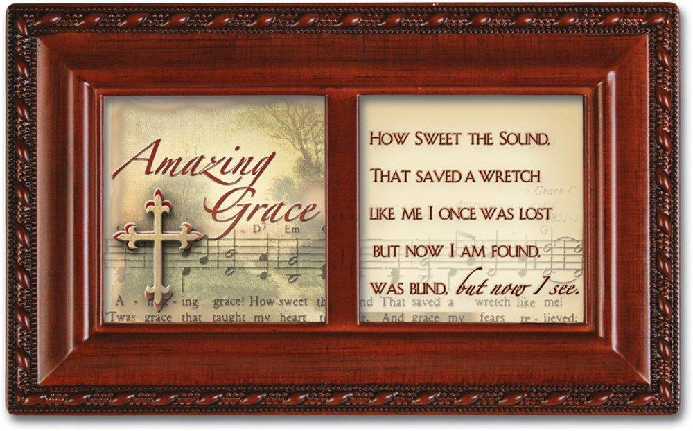超美品の Amazing Grace Woodgrain Inspirational Grace Cottage Cottage Garden小柄音楽ボックスPlays Amazing Grace Inspirational B0090R8K88, タノウラマチ:b88520be --- arcego.dominiotemporario.com