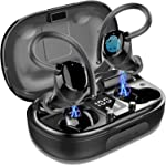 Wireless Earbuds Sports, in-Ear Bluetooth 5.0 Headphones IP7 Waterproof 100H Playtime