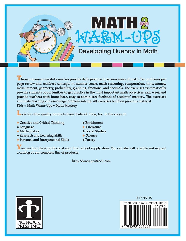 Amazon.com: Math Warm-Ups: Developing Fluency in Math, Grade 2 ...