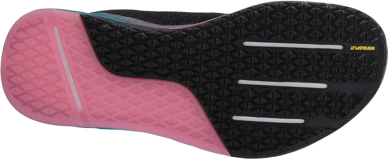 Reebok Women's Nano 9 Cross Trainer Shoes Black/Seaport Teal/Polished Pink