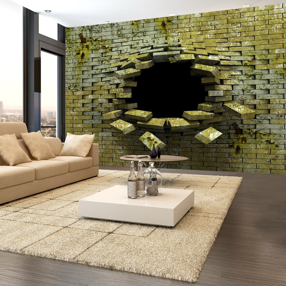 Murando - Fototapete Abstrakt 400x280 cm - - - Vlies Tapete - Moderne Wanddeko - Design Tapete - Wandtapete - Wand Dekoration - Mauer Ziegel a-A-0098-a-b 27eb32