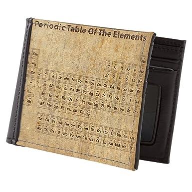 Amazon Cafepress Vintage Periodic Table Mens Wallet Bi