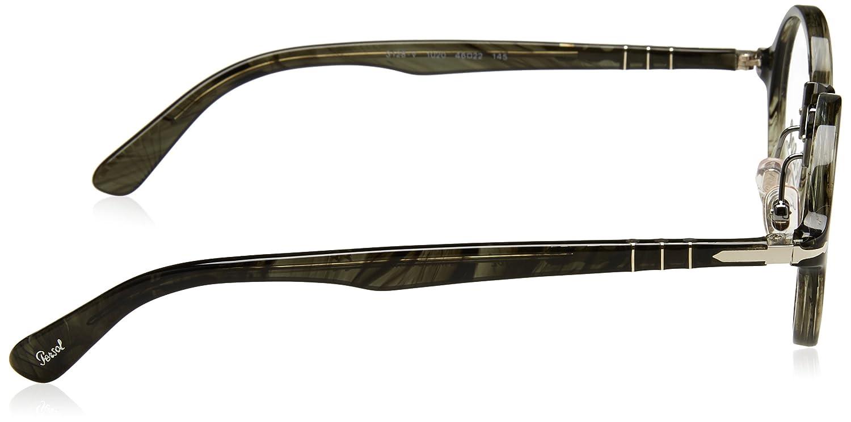 PERSOL Eyeglasses PO 3128V 1020 Striped Grey: Amazon.ca: Clothing ...