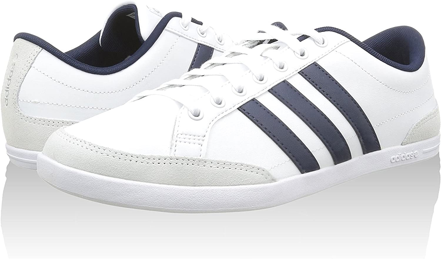 adidas Neo Caflaire Low-top Trainers F98433 white Size: 8.5 UK ...