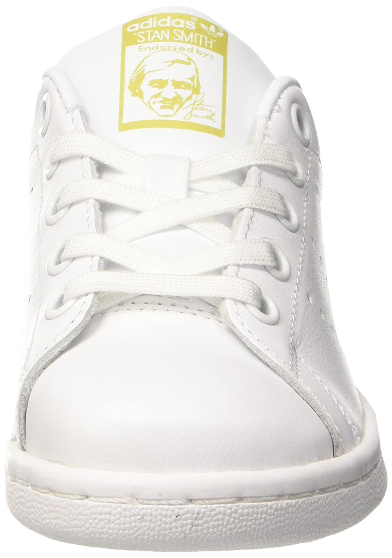adidas Stan Smith, Sneaker a Collo Basso Unisex - Bambini, Bianco Ftwr White/Gold Metallic, 34 EU: Amazon.it: Scarpe e borse