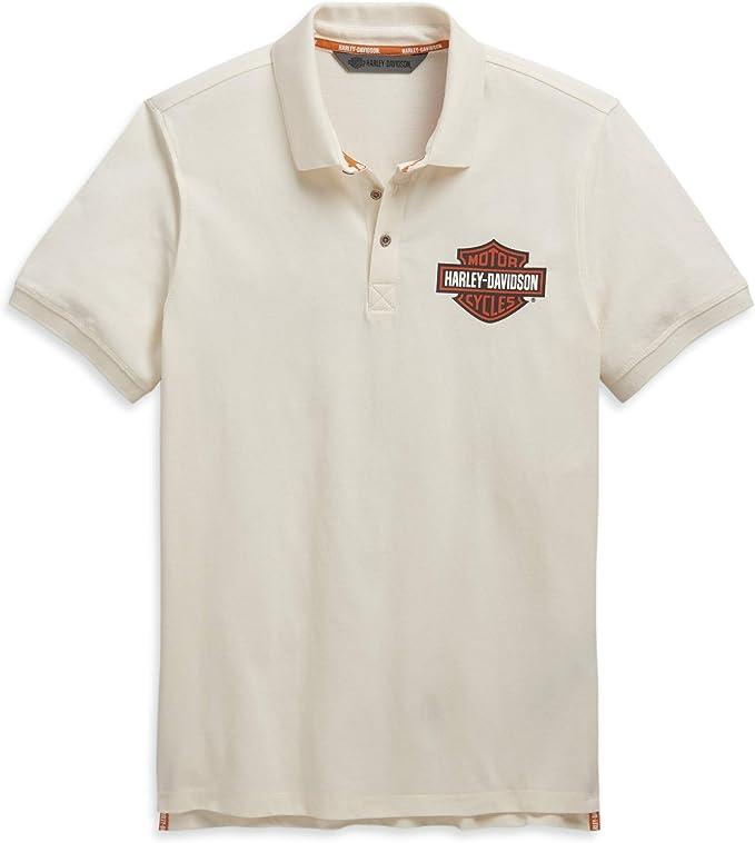 Harley-Davidson Polo en tricot avec logo