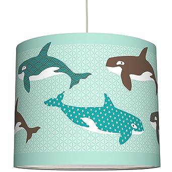 anna wand Lampenschirm ALL MY ORCAS – Schirm für Kinder / Baby ...