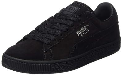 promo code efffb ae509 Puma Suede Classic +, Unisex Adults' Hi-Top Sneakers, Black, 7.5 UK