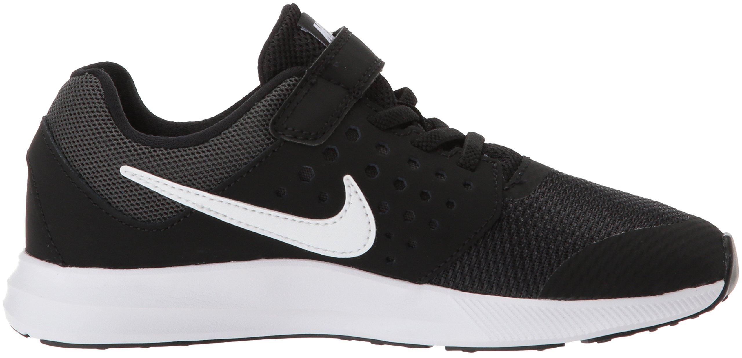 Nike Boys' Downshifter 7 (PSV) Running Shoe, Black/White-Anthracite, 3 M US Little Kid by Nike (Image #6)