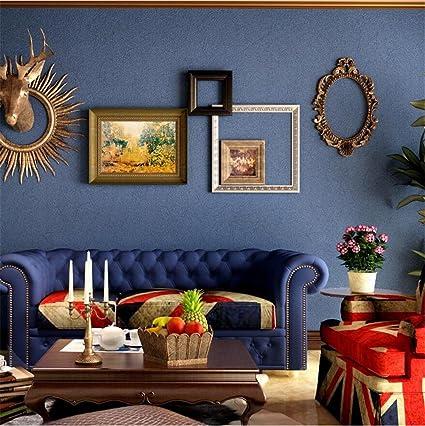 H&M Fondo de Pantalla Papel pintado Papel pintado de color sólido no tejido Barra decorativa Dormitorio