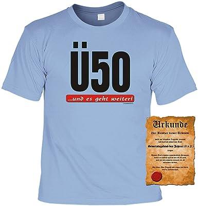Zum 50 Geburtstag Liebes Spruche Tshirt U50 Und Es Geht Weiter