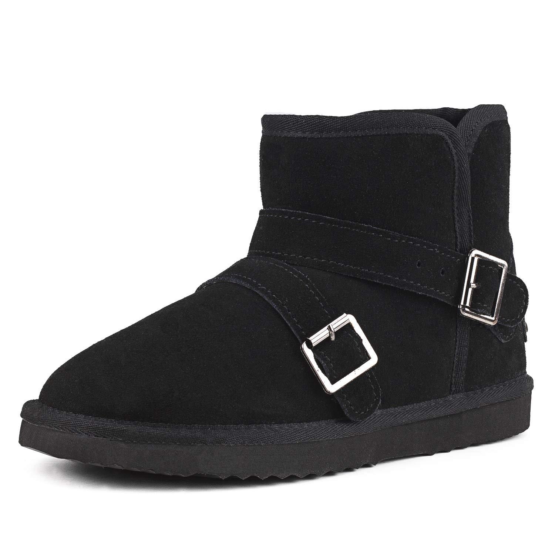 AUSLAND Men's Bahamas Leather Snow Boots AC041