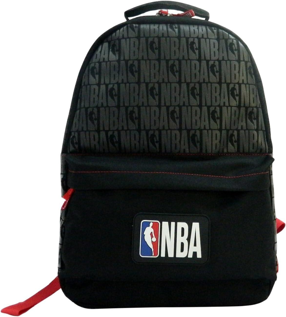 La Pluma Dorada 1/Saco a Dos 1/Compartimento NBA Mixta ni/ño Negro