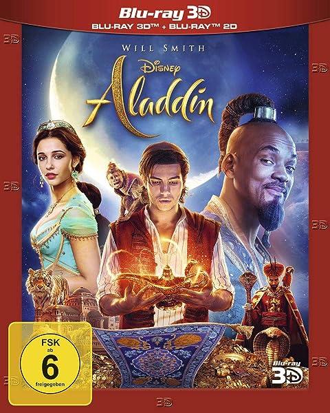 Aladdin: Live-Action / Blu-ray 3D + 2D: Amazon.es: August ...