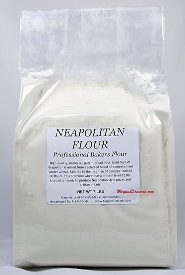 Amazon com : Gold Medal Neapolitan Pizza Flour Untreated - 7