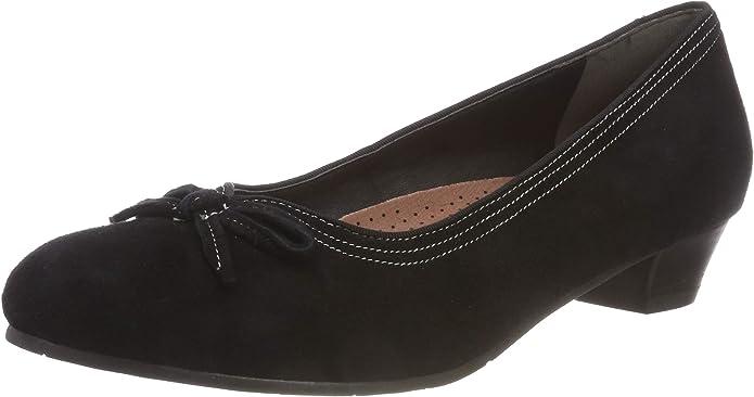 TALLA 40 EU. Hirschkogel 3003403, Zapatos de tacón con Punta Cerrada para Mujer