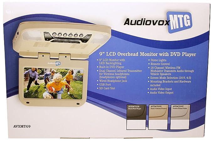 Amazon.com: AUDIOVOX AVXMTG9B 9