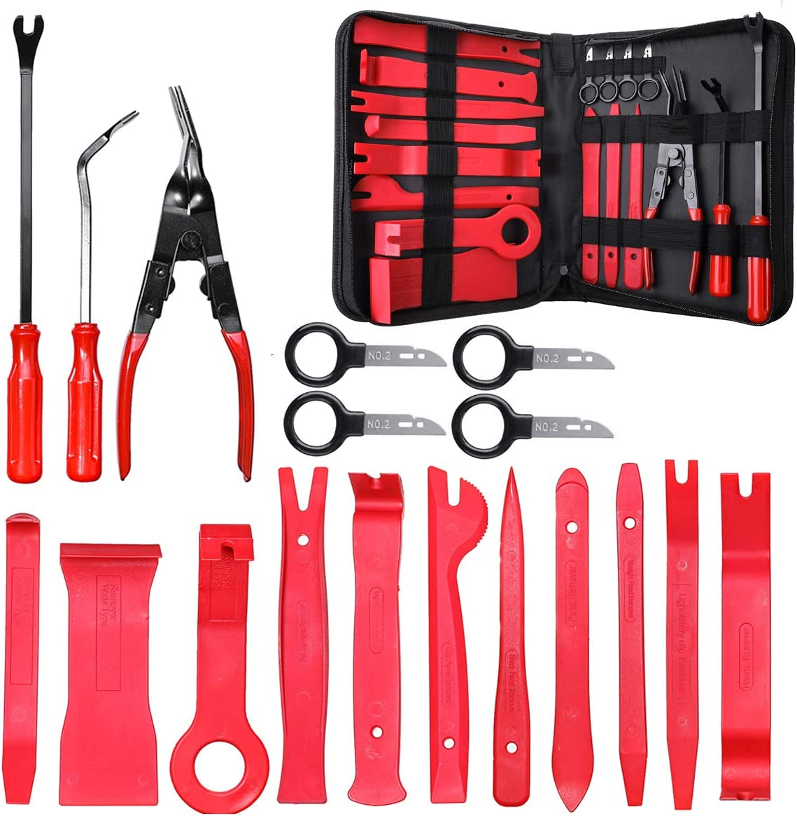 5 pièces Facom fcmcrd 5 trim removal toolkit