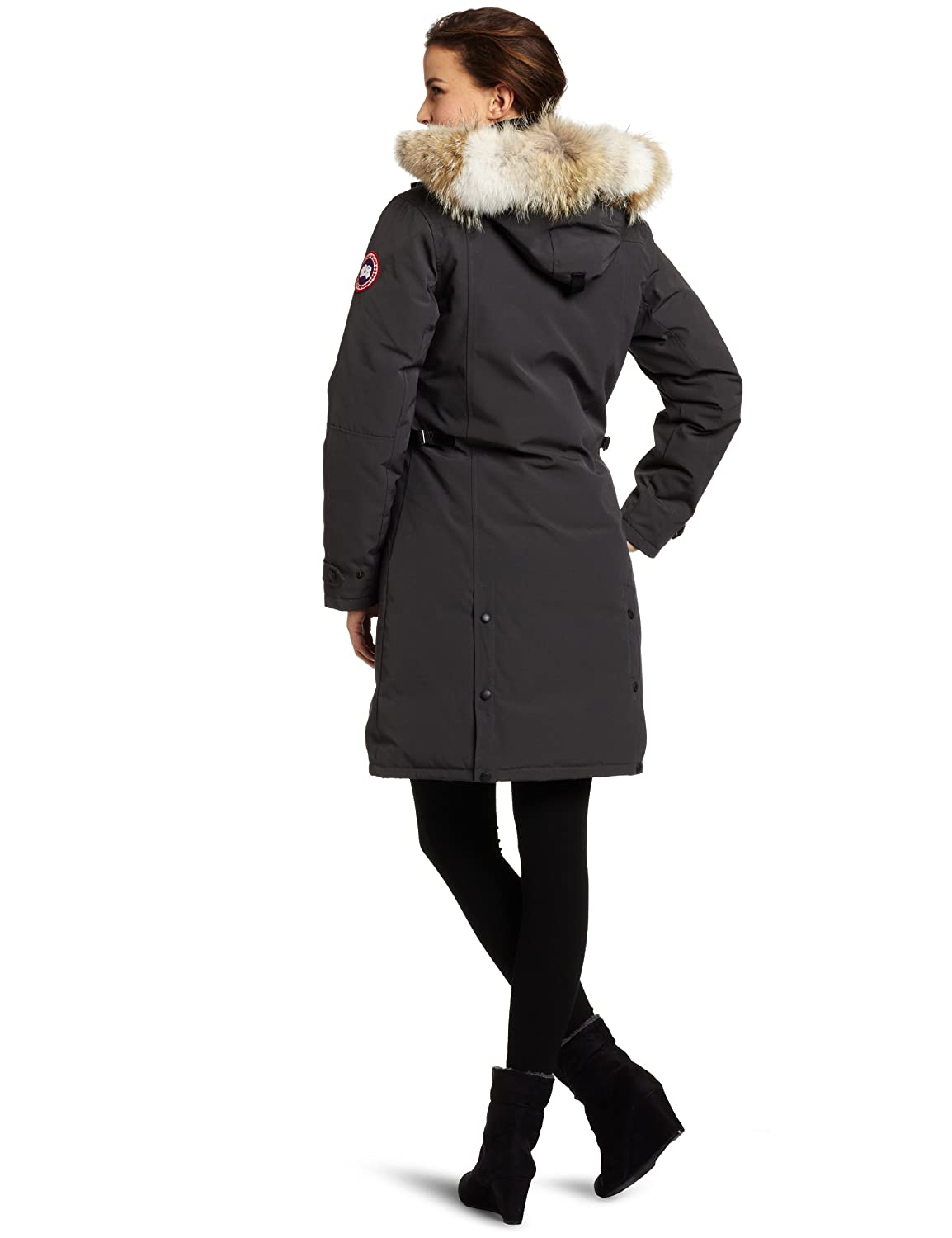 Details about Canada Goose Kensington Parka 100% Authentic Women Size Small Black Shipping Inc