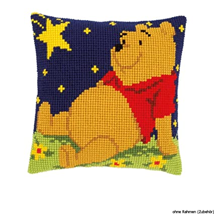 Amazon.com: Poohs Starry Night Cushion Front - Cross Stitch Kit