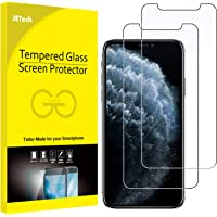JETech Screen Protector for iPhone 11 Pro, iPhone Xs and iPhone X 5.8-Inch, Tempered Glass Film, 2-Pack