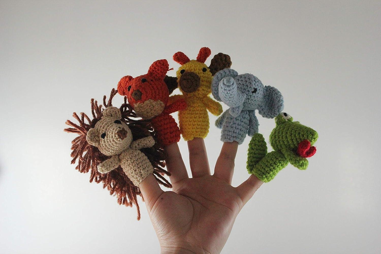 Finger puppet crochet pattern | Etsy | 1000x1500