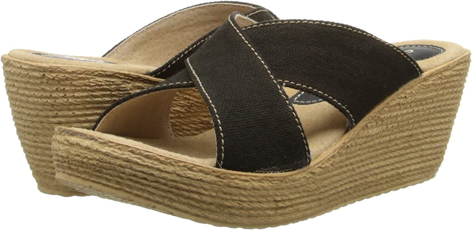 Sbicca Womens Admiral Wedge Sandal