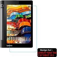 TASLAR Tempered Glass Screen Scratch Guard Protector for Lenovo Yoga Tab 3 10 Tablet 10.1 inch