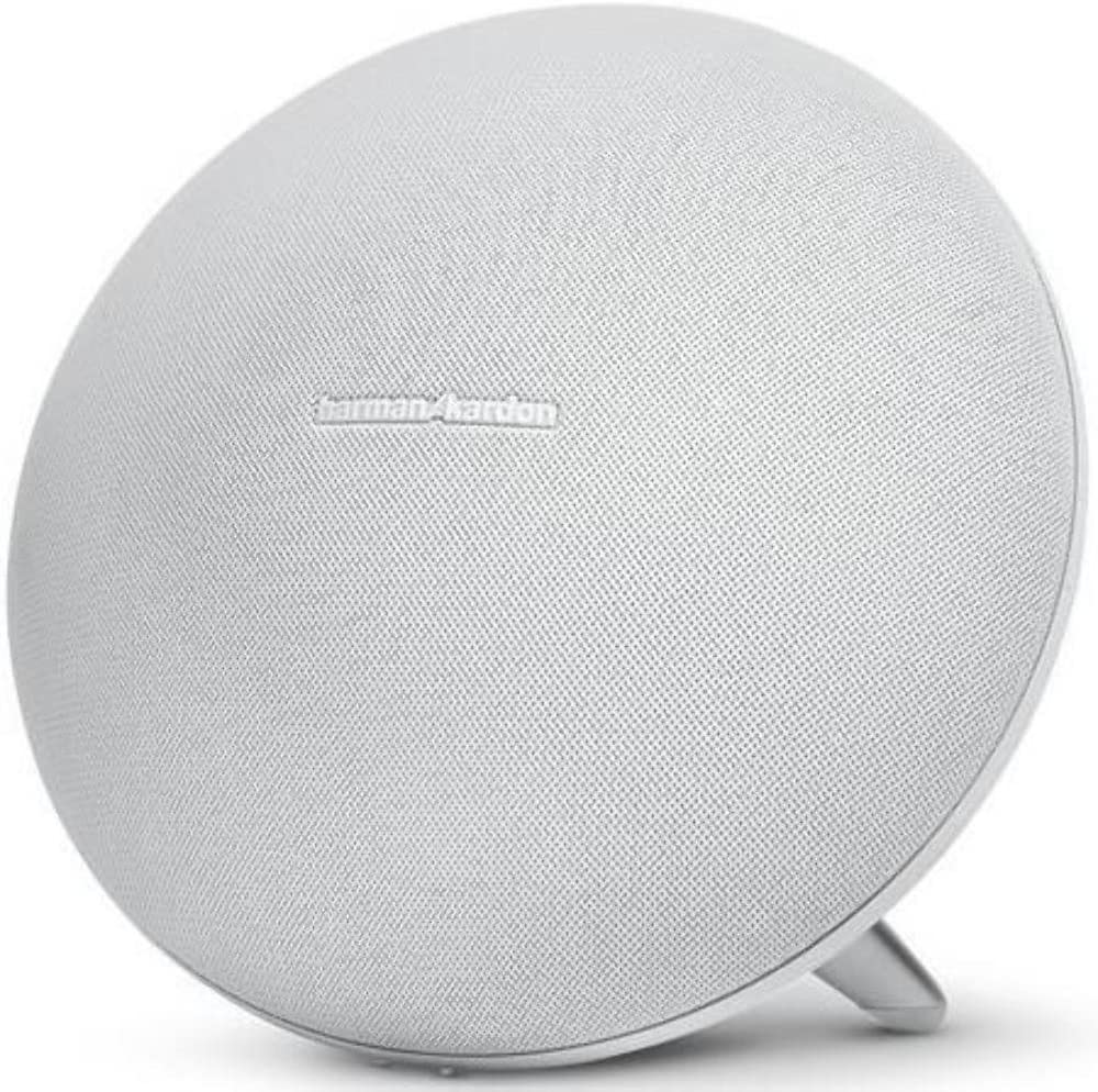 Harman Kardon Onyx Studio 10 Wireless Speaker System with Rechargeable  Battery and Built-in Microphone - White