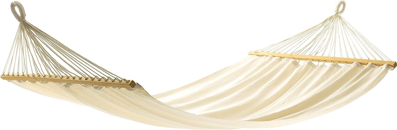 Jobek 25640 Stabhängematte Aruba, 100% Jobekcord, beige / natur