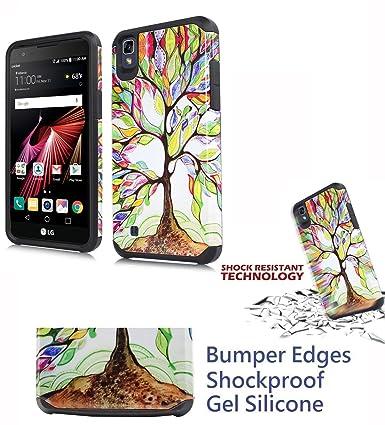 Amazon.com: Para LG X Power LS755 Xpower funda de teléfono ...